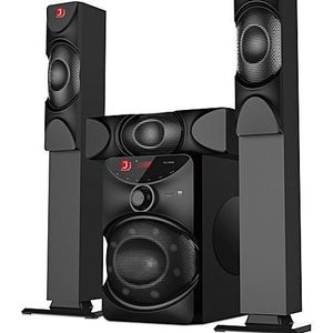 Djack 5.1 Djack Home Theater DJ-j5l Long Speaker  With Free DVD Player