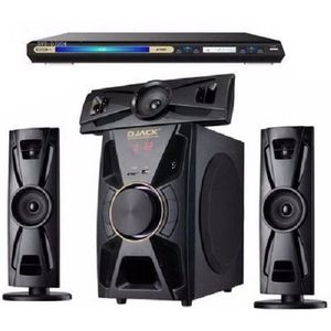 Djack X-Bass 3.1CH Bluetooth Sound System + DVD PLAYER + Surge