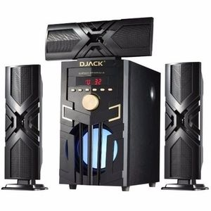 Djack 3.1ch Powerful Bluetooth Home Theater Dj-d3l + A DVD Player