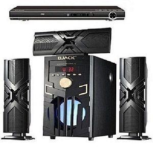 Djack DJ-23 BLUETOOTH HOME THEATRE SYSTEM+DVD