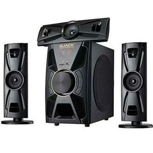 Djack 3.1  Bluetooth Home Theatre  DJ-23 +DVD Player + FREE Surge
