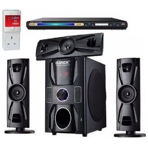 Djack 3.1 Home Theater System With Bluetooth Function + DVD PLAYER