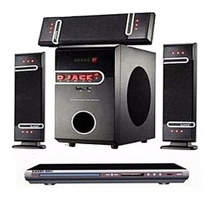 Djack Sound Booster Dj 503 Djack Home Theater  System Bluetooth