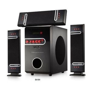 Djack 3.1 X-Bass Home Theatre System -DJ-6030L + DVD PLAYER