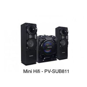 Polystar Powerful Bluetooth Sound System With Built-In Amplifier.