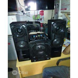 Polystar Bluetooth 2.1Channel Mega Bass Performance Home Theatre