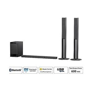 Sony SHAKE-X10D Three Box High Power Audio System With Lighting Effects And