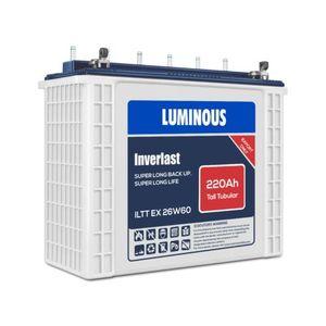 Luminous 220AH/12V Tubular Batteries (All Lagos Mainland And Lagos Island)
