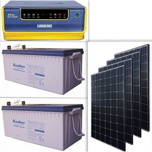 Luminous Enjoy 24/7 Power Supply With Solar Powered 1.5kva Inverter