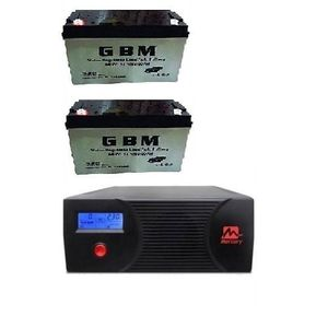 Mercury 2.4KVA Inverter With Two 100Ah Deep Cycle Batteries
