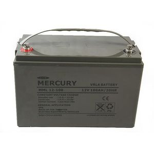 Mercury Deep Cycle Battery 100Ah-12v