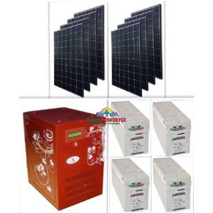 Nexus Solar Powered 5kva Inverter With 4 Quanta Batteries