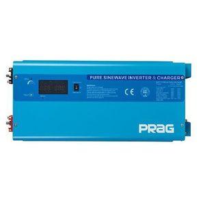 Prag 7.5KVA-48V Pure Sine Wave Inverter - Wall Mount-H + AC/DC Cables (Blue)