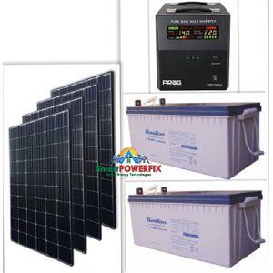 Prag Solar Powered 2.5kva Inverter With 2 Rugged 200ah Batteries