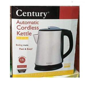 Century 1.9 X Litres Poweful ELectric Jug - CK 8119-J