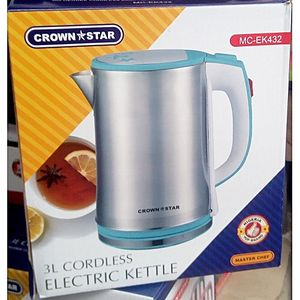 Crown Star Quality Fancy 3L Kettle