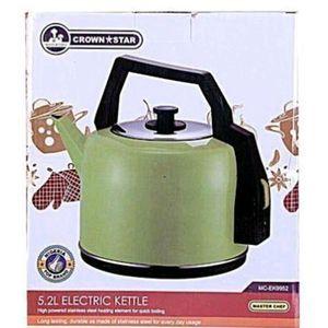 Crown Star Electric Kettle 5.2Lt