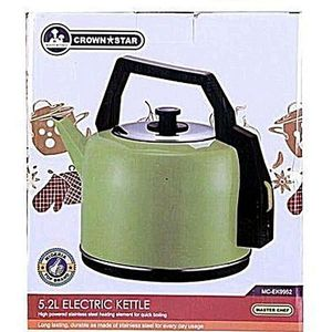 Crown Star Quality Electric Kettle 5.5l