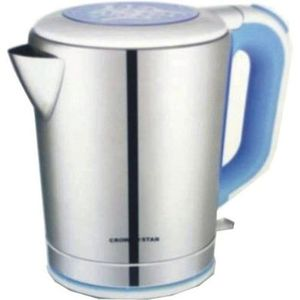 Crown Star Cordless Electric Kettle - 2.2 Liters - Multicolouurs