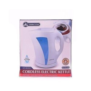 Crown Star Cordless Electric Kettle 2.2litres,