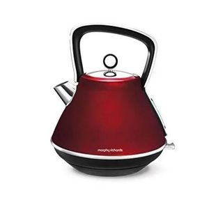 Morphy Richards Rapid Boil Kettle - Red