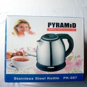 Pyramid Electric Kettle 2.2L Stainless