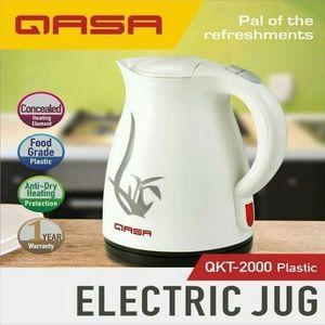 Qasa 1.8L Plastic Electric Jug