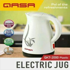 Qasa 1.8L Plastic Electric Jug QKT-2000