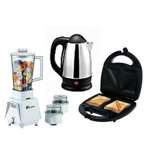 Saisho Blender + Electric Kettle + Toaster