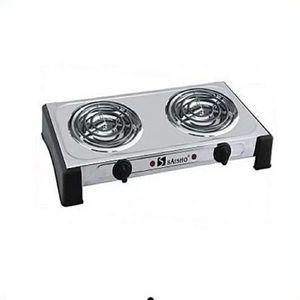 Saisho Siasho Ringed  Double Burner Electric  Hot Plate
