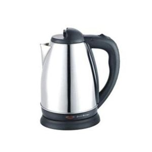 Saisho  1.8 Liters Stainless Kettle - Silver/Black