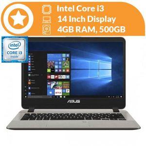 Asus X407UA Intel Core I3 4GB RAM 500GB HDD 14-inch HDD Window 10