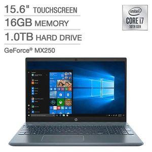 Hp Pavilion 15 Intel Core I7 16GB,1TB 4GB Nvidia Graphics Touch/Backlit Keyboard Win10