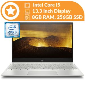 Hp Envy 13 Intel Core I5-8250U (256GB SSD,8GB RAM)Backlit 13.3-inch Wins 10