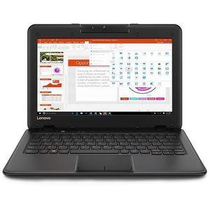 """Lenovo Notebook 100e 11.6"""" INtel Celeron N3350 1.1GHz Processor, 4GB RAM, 64GB EMMC, Windows 10 Home"""