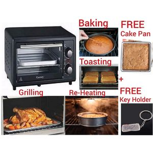 Century Heating + Baking + Toasting + Re-heating & Grilling Oven- 11 Litres + FREE Cake Pan + 3D Key Holder