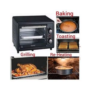Century 11 Litres- Electric Baker + Grill + Toaster + Heater + Oven + FREE Cake Pan + 3D Key Holder