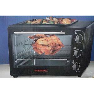 Eurosonic 20 Litres - Bake + Re Heating+Toast + Top Grilling Oven + BBQ Function+ 1 Free Baking Pan +  2 Free Cupcake Pan + Free Key Holder