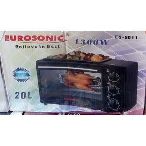 Eurosonic 20 Litre-Bake+Re Heating+Toast+Grilling Oven+BBQ Function