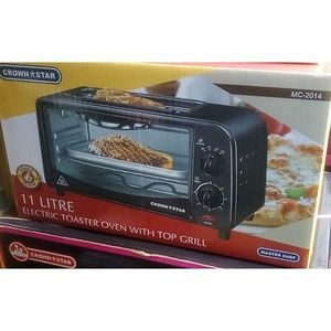 Master Chef Toaster Oven With Top Grill - 11Ltr