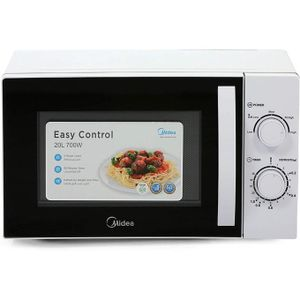 Midea 20 Litre MM720CE6 Microwave Oven - White