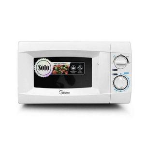 Midea Elegant 20L Solo Microwave Oven - White