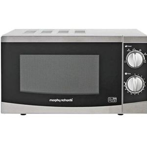 Morphy Richards Excellent Digital Touch Microwave Oven + Grill - 20 Litres - 800W - Grill: 1000W - By Morphy Richards - Made In UK - Black
