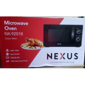 Nexus 20L Microwave Oven - Black