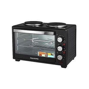 Polystar 20 LITRE MICROWAVE OVEN WITH GRILL BLACK COLOUR