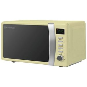 Russell Hobbs Compact Silver Manual Microwave - 800W