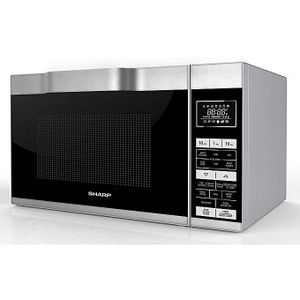 Sharp Solo Microwave Oven Stainless Steel 25L - 900W