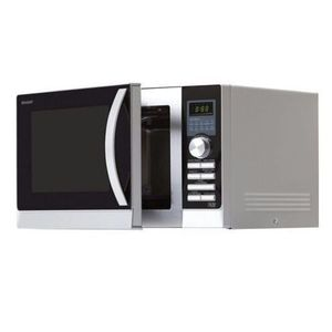 Sharp 20 Litre Touch Control Digital Microwave Oven R270WM - White