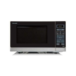 Sharp 25L Convection 2-In-1 Flat Bed Microwave Oven & Grill - 15 Auto-Cook Programmes