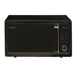 Sharp 25 Litre Solo Digital Microwave Oven With Touch Control - 900W - 11 Power Levels - 24 Pre-Set Programmes - Stainless Steel